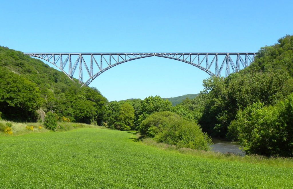 Tauriac de Naucelle - Le Viaduc du Viaur